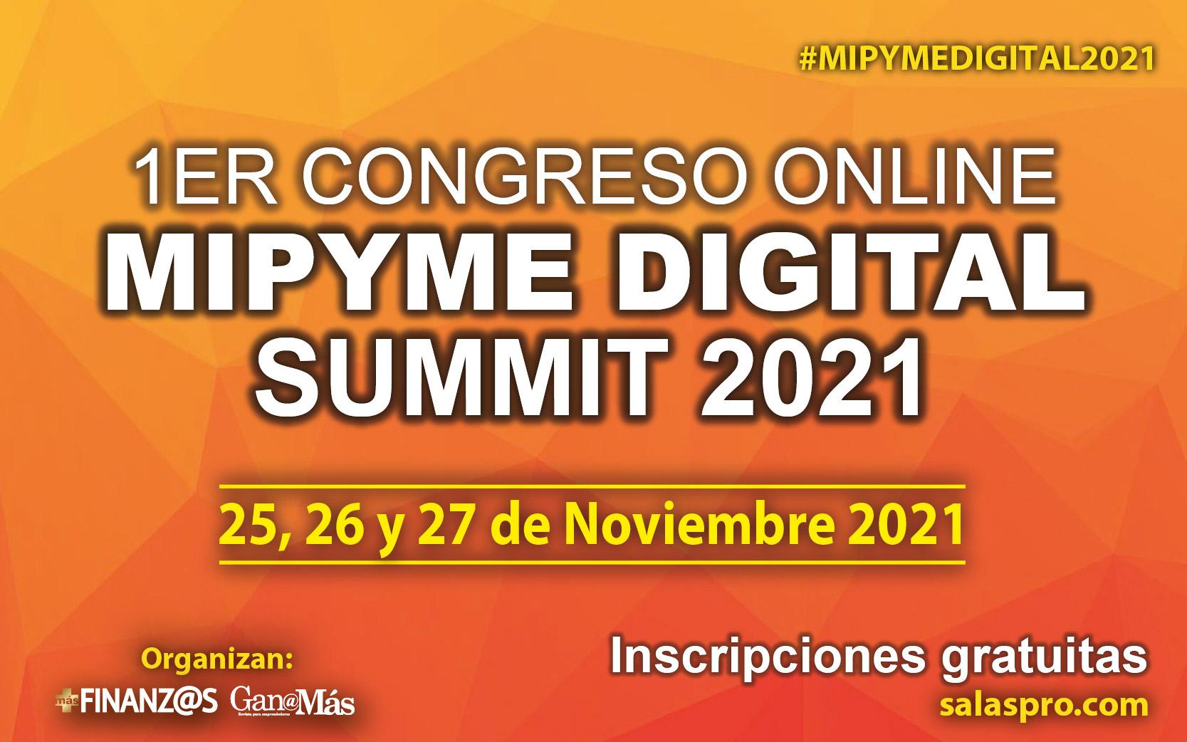 1er Congreso Mipyme Digital Summit 2021